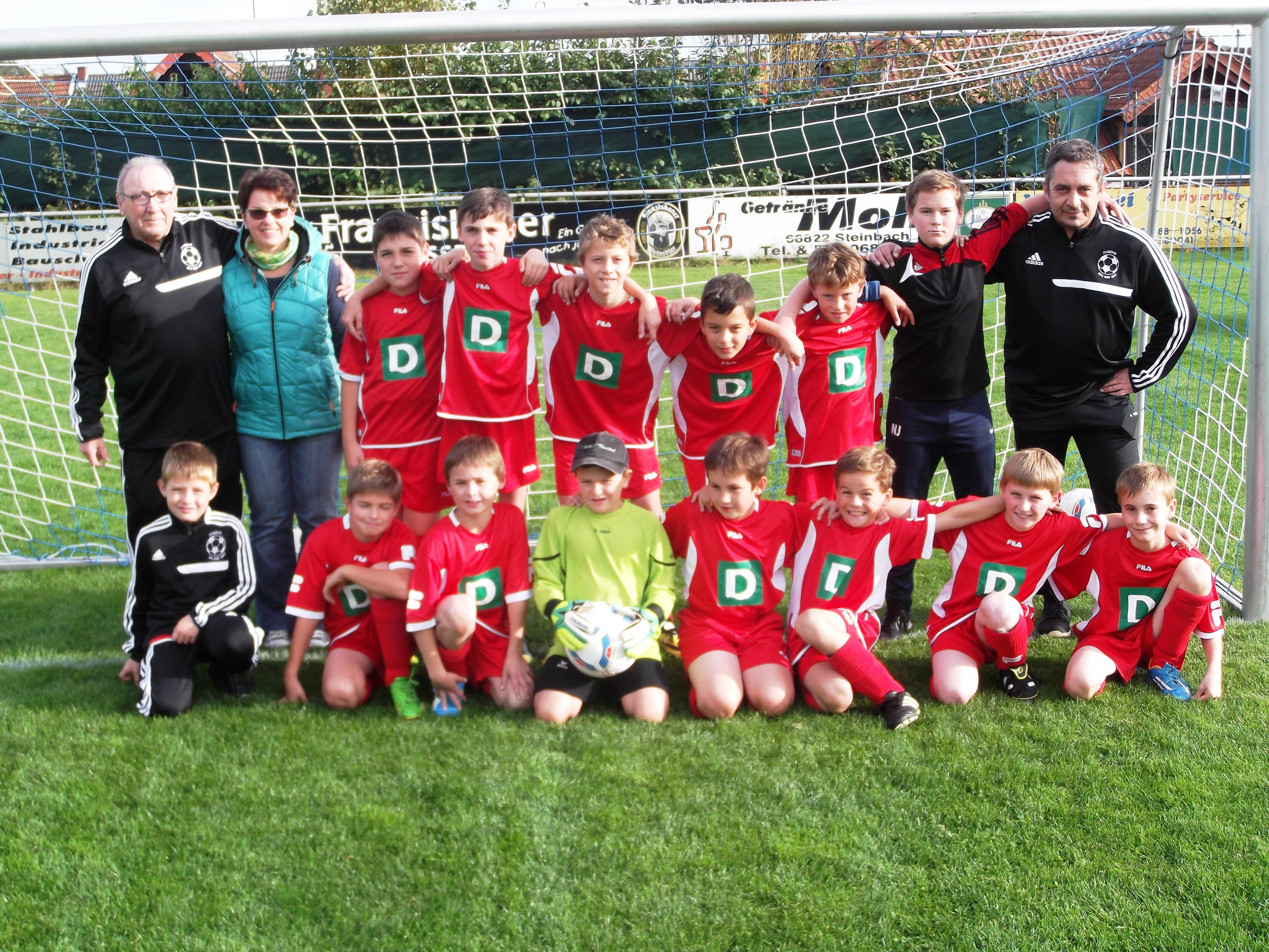 E-Jugend-Mannschaft 2014