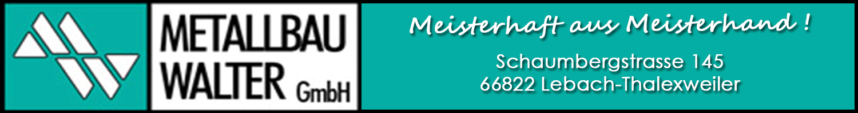 Metallbau Walter GmbH