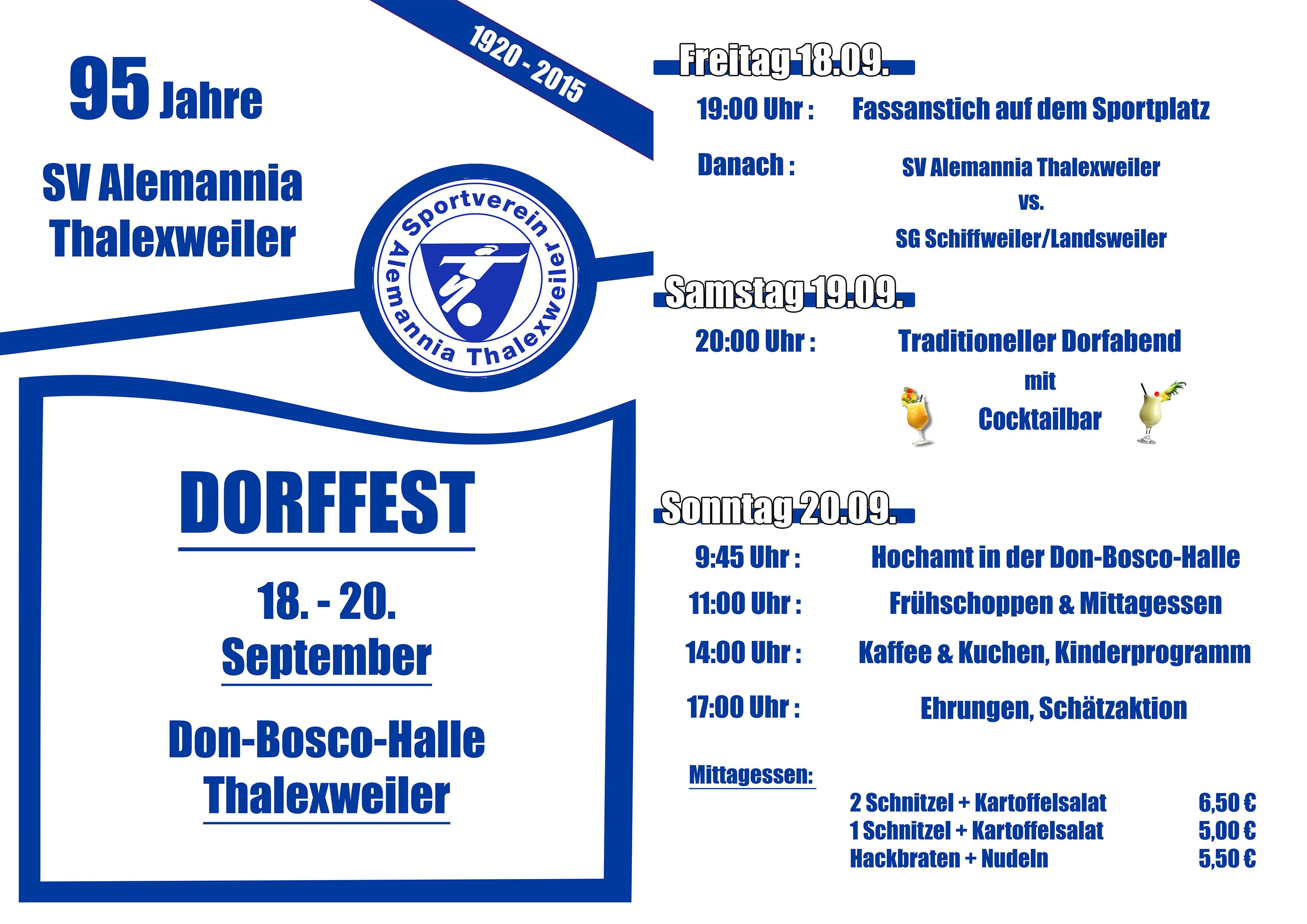 Dorffest-Website