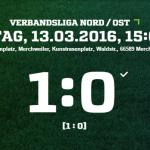 SV Merchweiler   SV Alemannia Thalexweiler Ergebnis  Verbandsliga   Herren   13.03.2016
